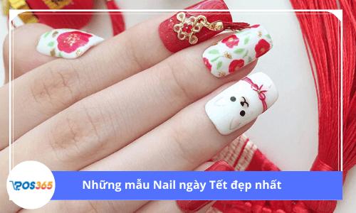 Những mẫu nail ngày Tết đẹp nhất