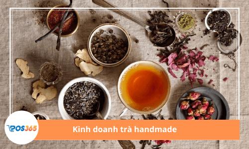 Kinh doanh trà hoa khô kiếm bộn tiền