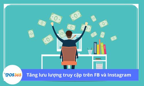 Tăng lưu lượng truy cập từ Facebook và Instagram