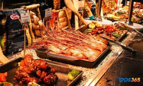 cách quản lý nhà hàng buffet