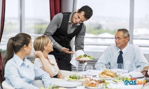 phục vụ ăn uống