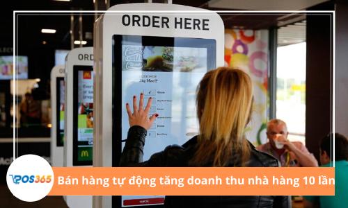 Bán hàng tự động hóa đang thay đổi cách các nhà hàng kinh doanh