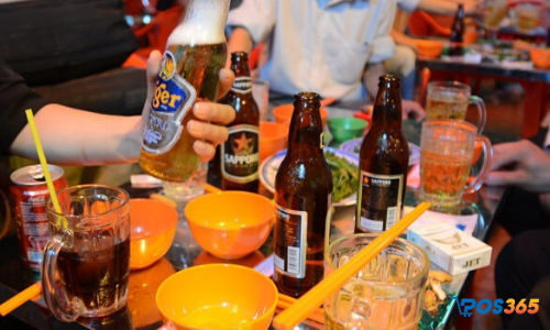 mở quán bia hơi