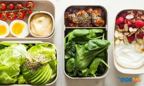 các món ăn vặt healthy