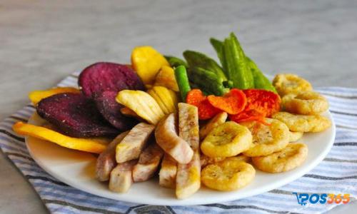 món ăn vặt healthy