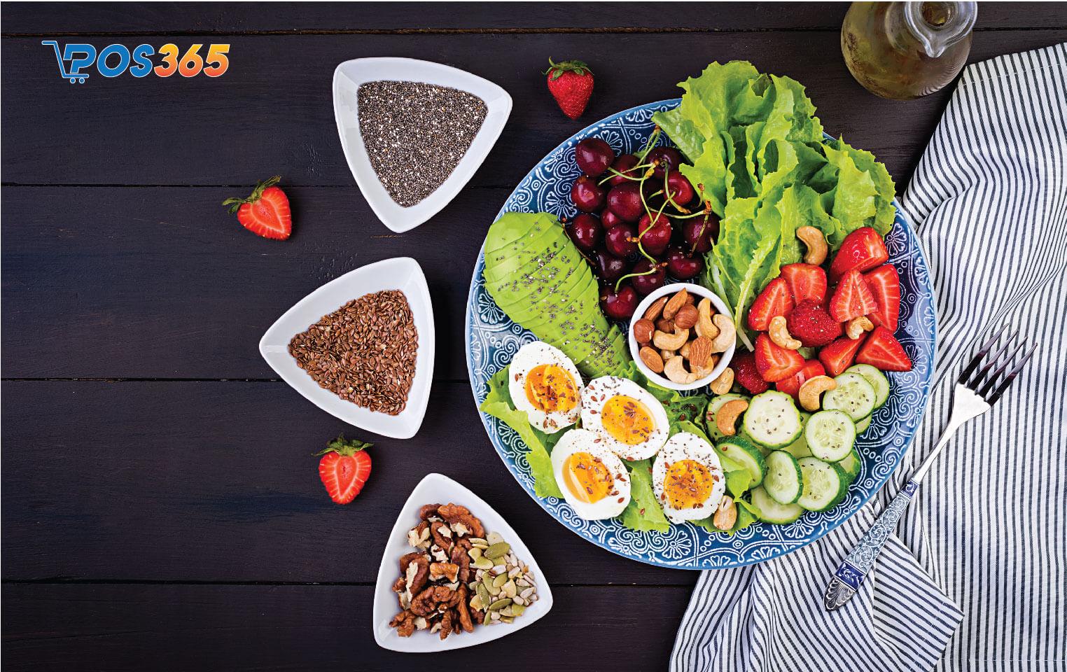 món ăn keto giảm cân