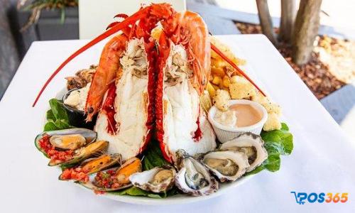 Thực đơn món ăn nhà hàng hải sản