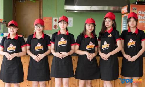 Trang phục đẹp đối với nhân viên nhà hàng