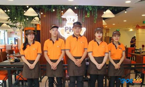 đồng phục nhà hàng ăn uống