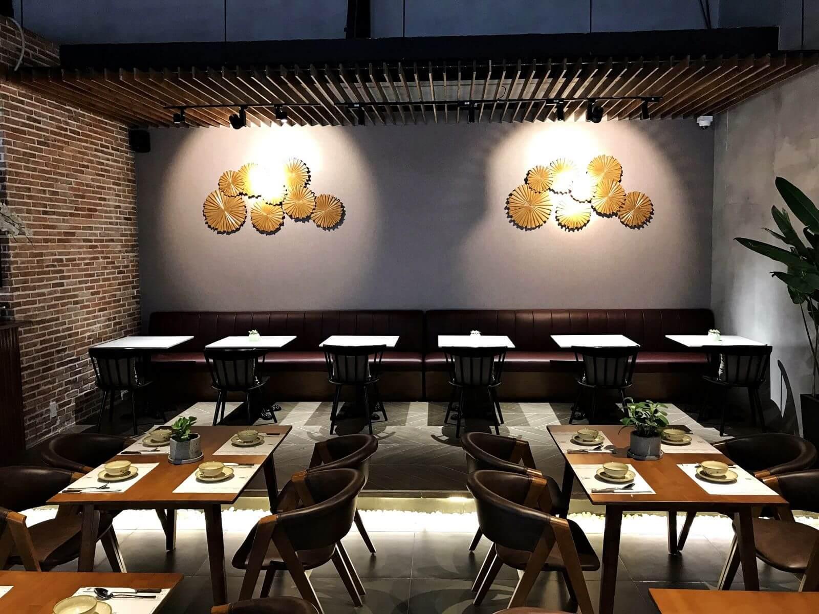 Mẫu trang trí nhà hàng đẹp
