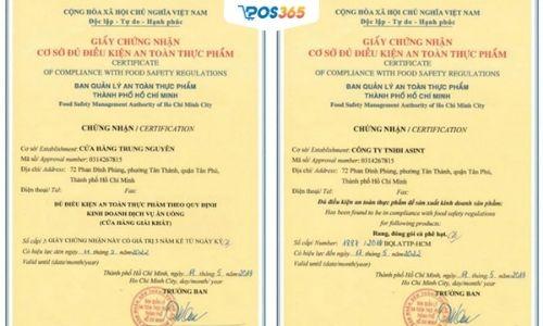 giấy phép kinh doanh quán ăn