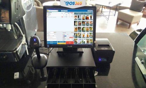 máy tính tiền quán ăn
