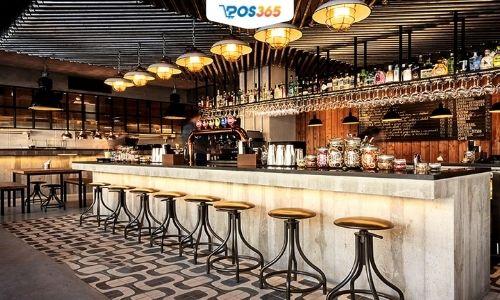 trang trí quán bar