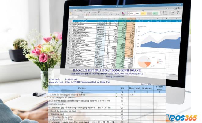 Bảng báo cáo kết quả kinh doanh
