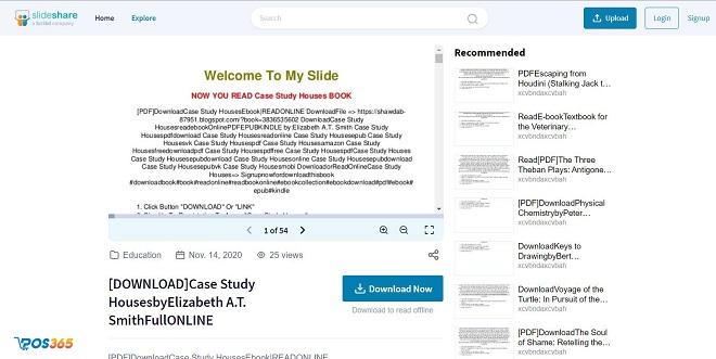 Tạo Case Study trên SlideShare