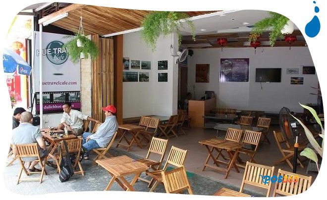 trang trí quán cafe bình dân