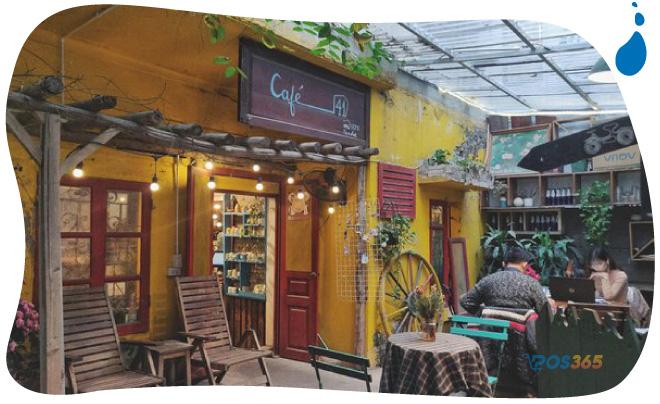 trang trí quán cafe theo phong cách cổ điển