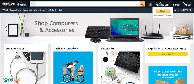 Kinh doanh Dropshipping trên Amazon