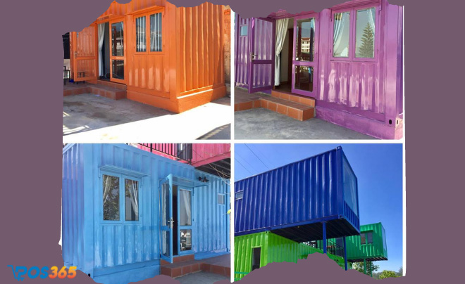 Kinh doanh homestay container