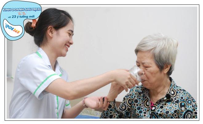 kinh doanh dịch vụ chăm sóc người già sau dịch