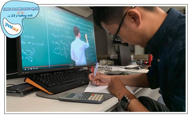 kinh doanh mùa dịch, dạy học trực tuyến