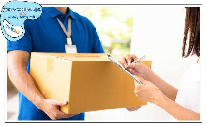 Dịch vụ giao hàng nhanh, nhận hàng ngày càng phát triển sau dịch