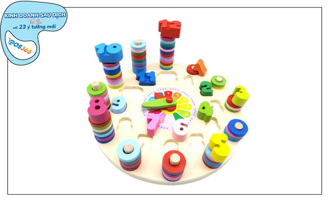 Xu hướng kinh doanh đồ chơi, trò chơi giáo dục cho trẻ em