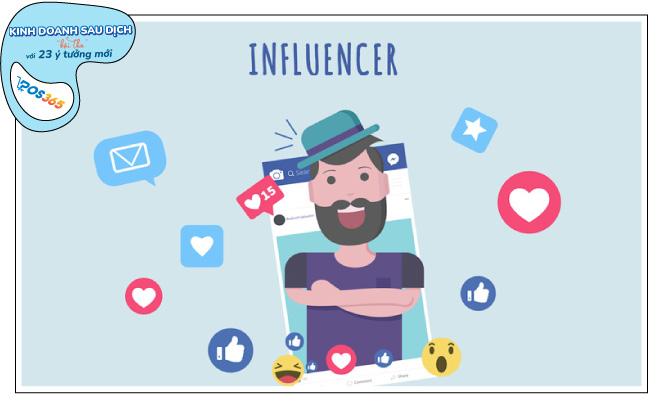 Kinh doanh sau dịch - làm influencer