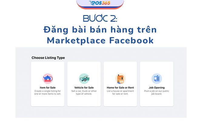 cách đăng bài trên marketplace