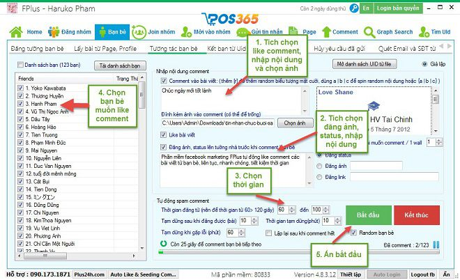 Phần mềm Marketing Fplus