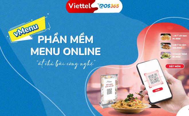 Hợp tác với POS365, Viettel ra mắt phần mềm vMenu