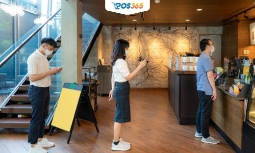 nhà hàng mở cửa dịp covid