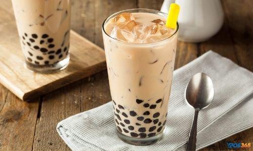 cách làm trà sữa phúc long