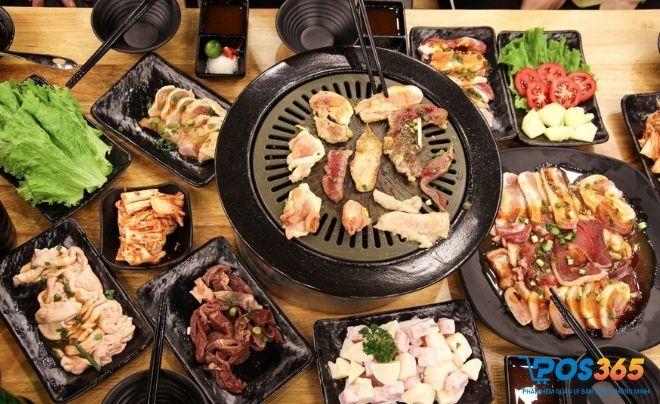 buffet nướng hải sản