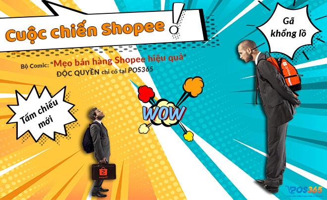 """Mẹo bán hàng Shopee: Cuộc chiến với những """"Người khổng lồ"""""""
