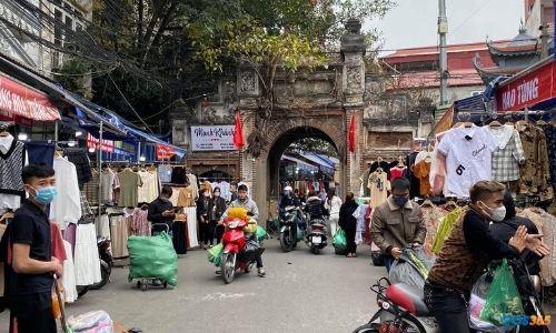 thuê kiot chợ Ninh Hiệp