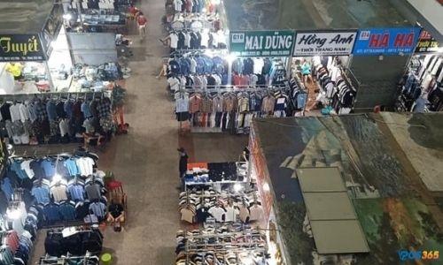 sơ đồ chợ ninh hiệp