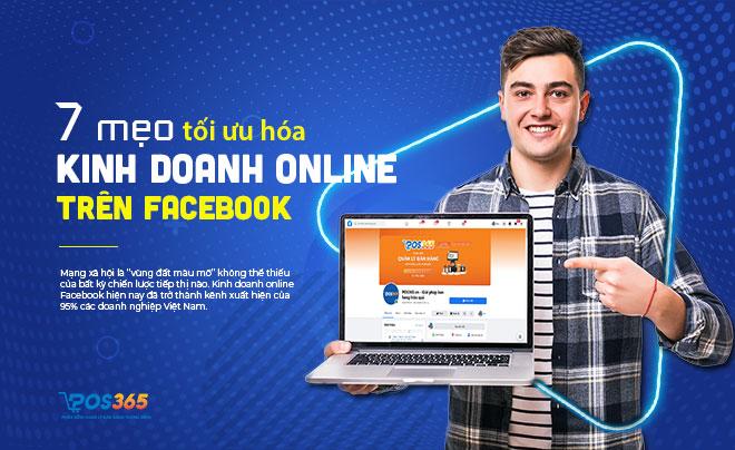 7 mẹo tối ưu hóa trang kinh doanh online Facebook