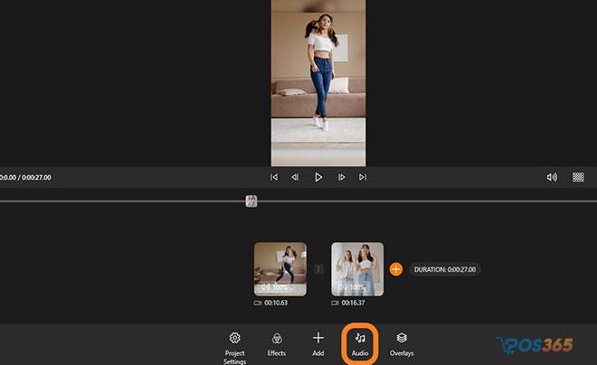 Edit video tik tok bằng máy tính