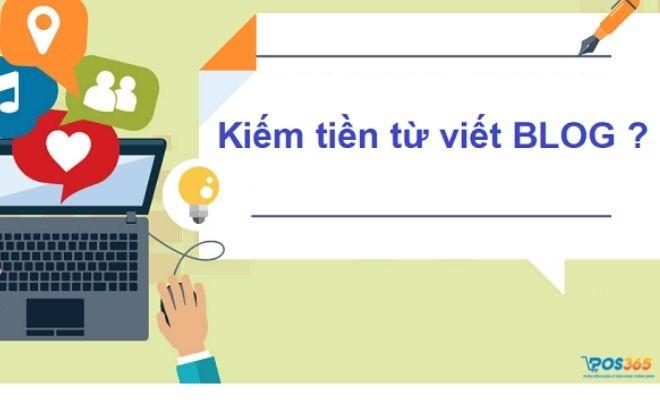 Kiếm tiền online tại nhà từ blog