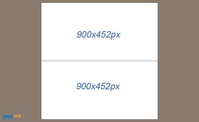 Kích thước ảnh chạy quảng cáo 2 hình nằm ngang đều nhau