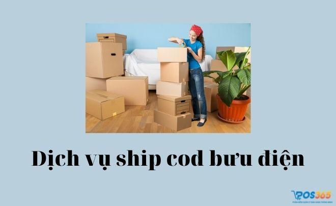 Dịch vụ ship cod qua bưu điện