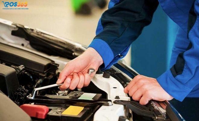 Kinh doanh dịch vụ sửa xe