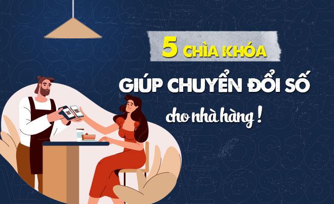 5 chìa khóa giúp chuyển đổi số cho nhà hàng 4.0