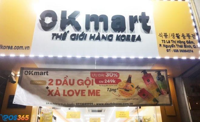 Các cửa hàng của OK Mart