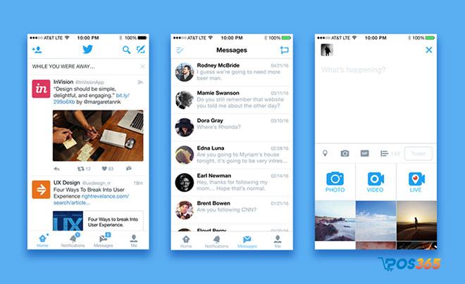 mô hình kinh doanh của Twitter