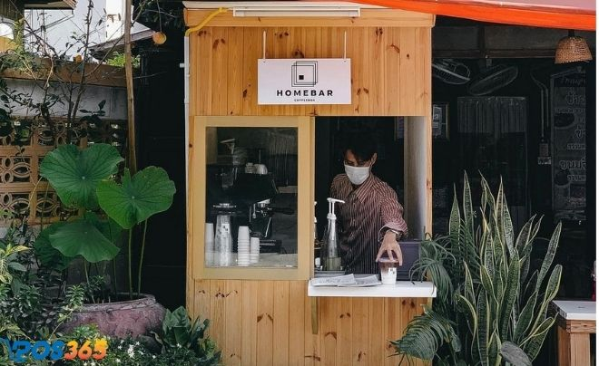 Mô hình quán cafe take away
