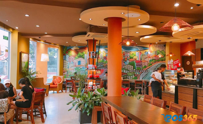 Thực hiện quảng cáo cho quán cafe nhượng quyền Highland