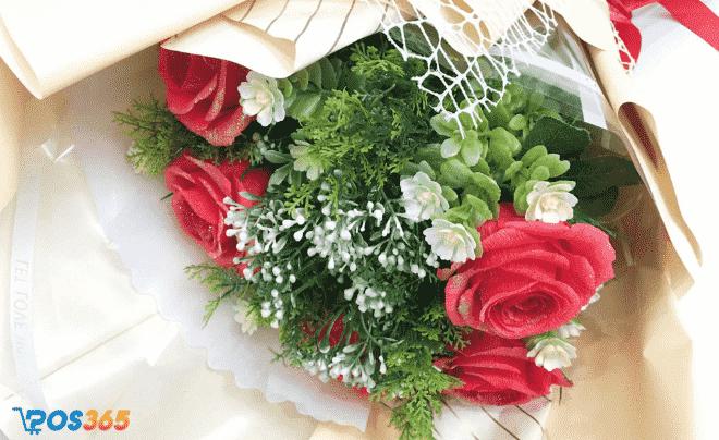 Làm hoa handmade