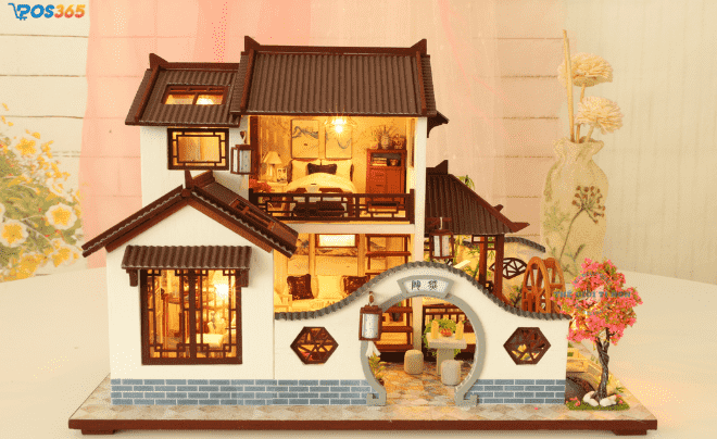 Mô hình nhà handmade